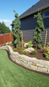 Retaining wall Battleground WA