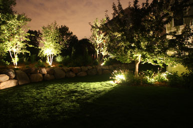 Exterior lighting design Vancouver, WA