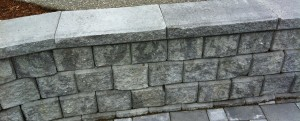 retaining wall, frontier landscaping