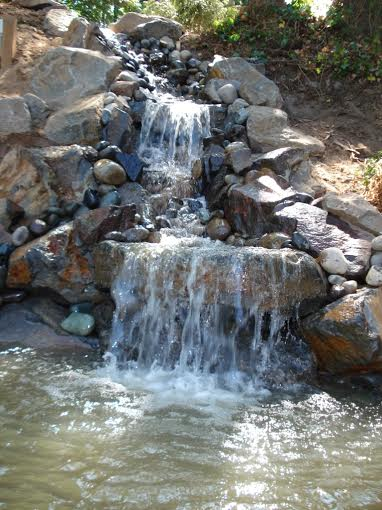 cascading water feature Vancouver, WA