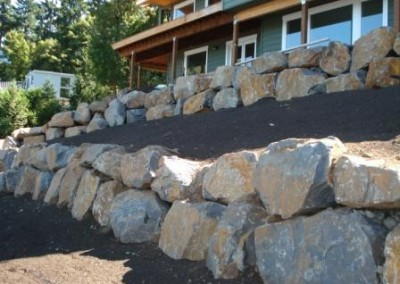 Retaining wall design and installation Vancouver, WA