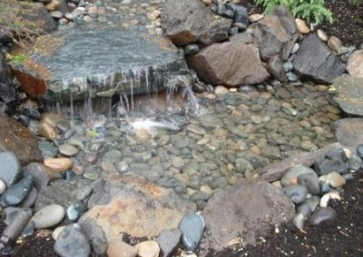 flat rock waterfall