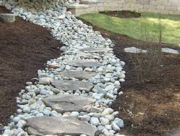 Drainage problems: French drain and path