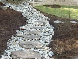 French drain as a path
