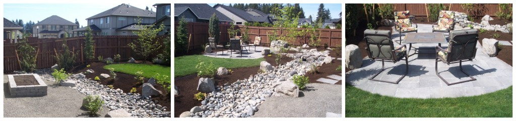 Hardscape design 3-in-1: Yard, Garden, Patio