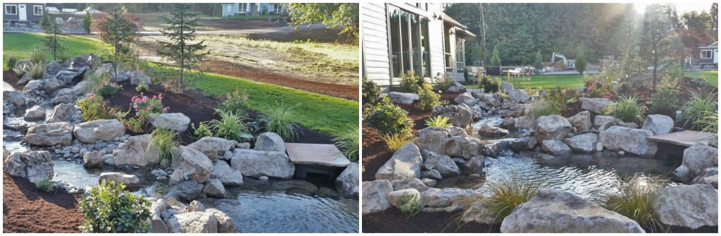 frontier landscaping-parade-of-homes-2016-back-yard-water-feature-collagemiles-parade-of-homes-2016-back-yard-water-feature-collage