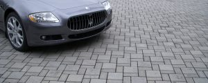 Going green with Eco Priora Gray Mutual Materials permeable paver driveway